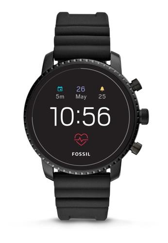 Fossil black Explorist Smartwatch FTW4018 5E833AC3091C47GS_1