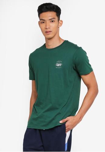 Cotton On 綠色 休閒印花T恤 F2D5AAAB3FFE3FGS_1