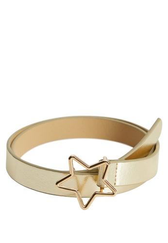 MANGO KIDS gold Star Buckle Belt 82437KC895C501GS_1