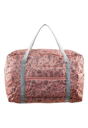 Travel Manila pink Printed Foldable Bag TR905AC06ACVPH_1