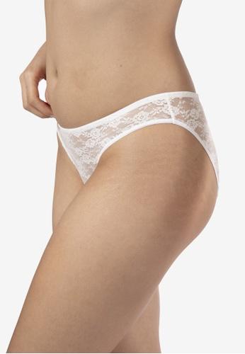 DORINA white Michelle Lace Brief Classic Panties 03B5CUSA205489GS_1