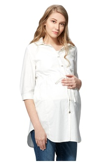 ad26f4bf6da47 Cool Dry Maternity   Nursing Shirt Dress D886CAA6A34C5AGS 1 Mamaway ...
