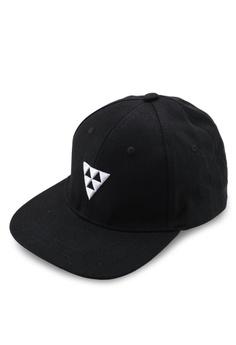 f6ad146f OVS black Embroidered Drill Baseball Cap D9DEAACF452E80GS_1