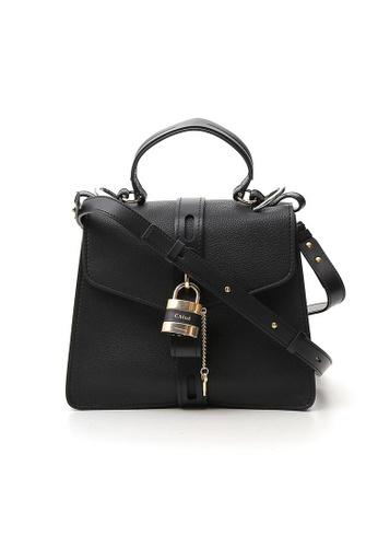 Chloé black Chloe Medium Aby Day Shoulder Bag in Black 80C82AC5F735F0GS_1