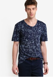 Boss Orange navy Topmost T-Shirt BO434AA36MFBMY_1