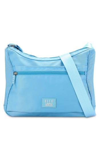 ELLE blue Xenia Sling Bag EL900AC0RBCRMY_1