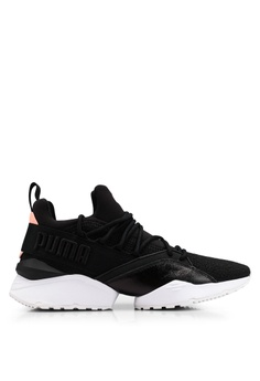 newest d2330 74cf3 Puma black Muse Maia Bio Hacking Womens Sneakers F5680SH6A8C6CBGS1