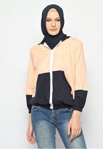My Daily Hijab orange Odela Jacket Sporty F8409AA797DB74GS_1