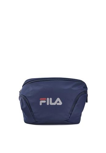 FILA navy Men's FILA Logo Crossbody Bag D8013AC0A83F8DGS_1