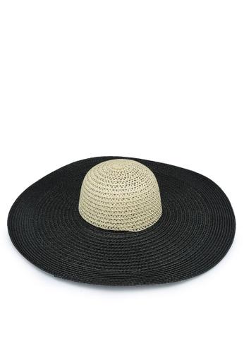 Forever New black Naomi Floppy Hat 8F794AC967BF1FGS_1