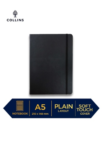 Collins black Collins Legacy  ─  NotebookA5 Plain Black DB850HLD9F849CGS_1
