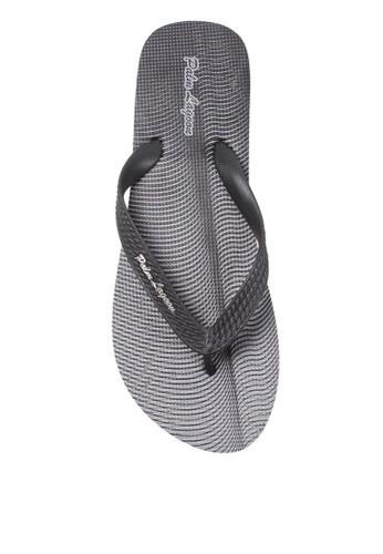 Palm Lagoon black Sandal & Flip Flop WAVE LINE BLACK 420ADSH7A76082GS_1