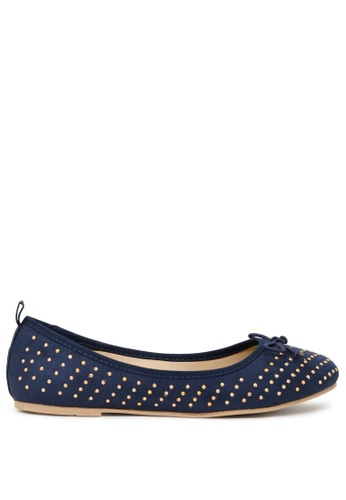 London Rag 藍色 藍色芭蕾舞鞋 SH1700 1DBACSHCCF92F2GS_1