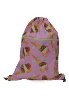 Hanz Small Ice Cream Drawstring Bag