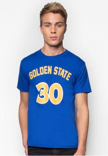 Goesprit童裝門市lden State #30 籃球風TEE, 服飾, T恤