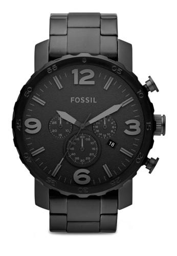 Fossil black Black / Black Fossil Nate JR1401 FO164AC83RROMY_1