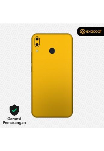 Exacoat Asus Zenfone 5 / 5z (2018) 3M Skins True Colors - Lemon Yellow BC29AESCEBFF9BGS_1