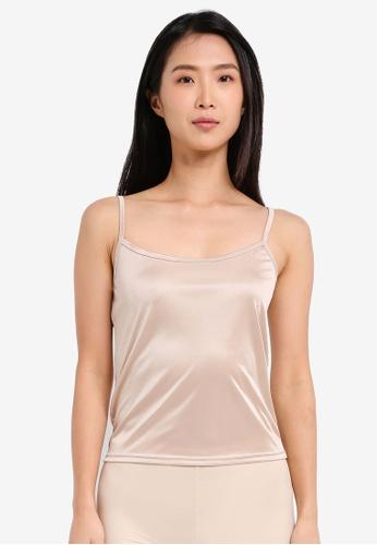 Impression beige U-Neck Camisole Innerwear IM679US0SHUMMY_1