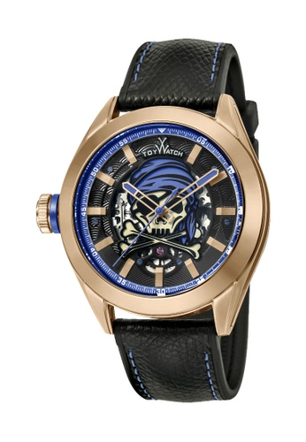 ToyWatch blue ToyWatch Pirate Master Rosegold Blue Automatic TYSKU03BE 0E641AC514E766GS_1