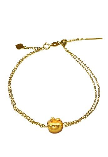 LITZ gold [SPECIAL] LITZ 999 (24K) Gold Apple With 9K Yellow Gold Bracelet 苹果手链 EPC1003-9KB 1FD28AC66D6BEFGS_1