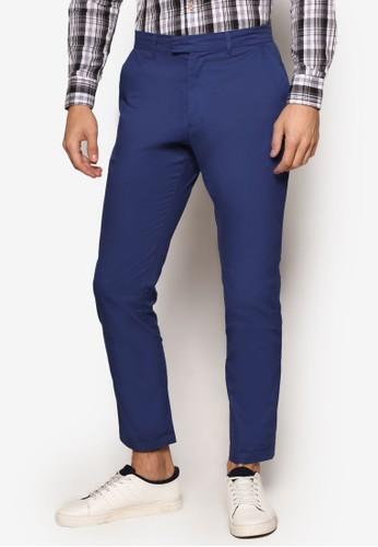 簡約休閒長褲, 服飾, 長zalora是哪裡的牌子褲
