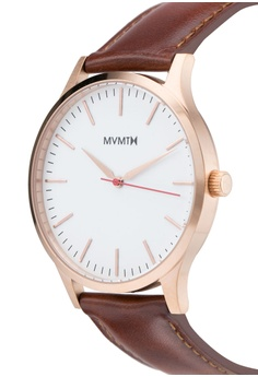 602c68b2f 20% OFF MVMT MVMT 40 Series Watch - 40 Rose Gold Natural Tan S$ 204.90 NOW  S$ 163.90 Sizes One Size