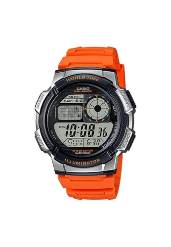 Casio orange Casio Sports Digital Watch (AE-1000W-4B) 197D1AC01DC2C2GS_1