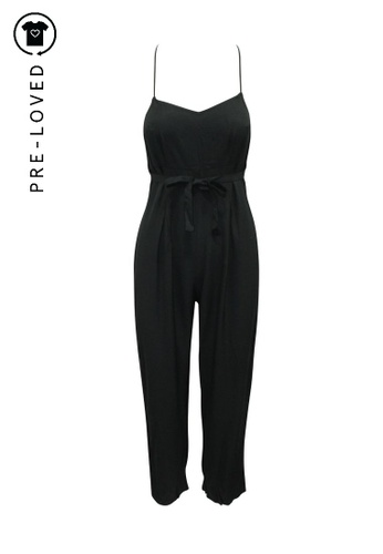 Reformation black Pre-Loved reformation Oversized Black Jumpsuit F2A70AACD8B09FGS_1