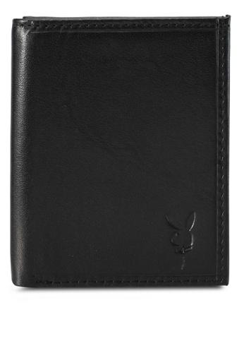 Playboy black Playboy Bi-Fold Wallet PL371AC0SK0YMY_1