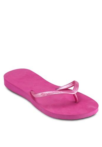印zalora 鞋評價花夾腳拖, 女鞋, 拖鞋