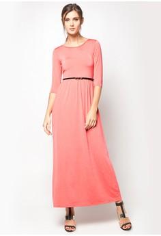 Venus Quarter Sleeve Maxi Dress