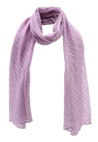 OVS 粉紅色 質感圍巾 13657AC1F1D7BBGS_1
