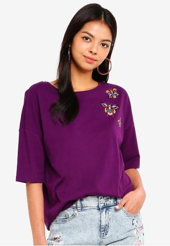 ESPRIT red Short Sleeve T-Shirt C1636AAC267F3CGS_1