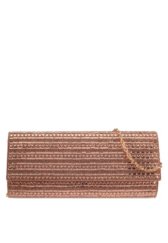 ALDO brown Bascemi Clutch CF75FAC169A420GS_1
