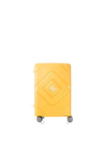 American Tourister multi American Tourister Trigard Koper Hardcase Cabin/20inch TSA – Mustard Yellow 2CCBCAC88FDECAGS_1
