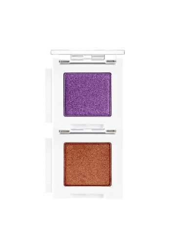 THE FACE SHOP brown Mono Cube Eyeshadow (Glitter)  BR02 Golden Blossom B0A5DBE221C658GS_1