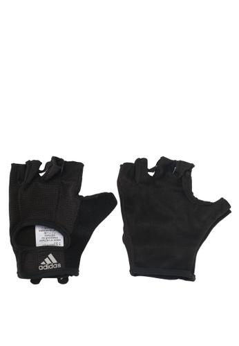 adidas black adidas vers clite glov AD372AC0SUJAMY_1