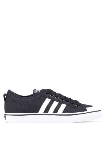 adidas black adidas originals nizza 5F621SH63B5235GS_1