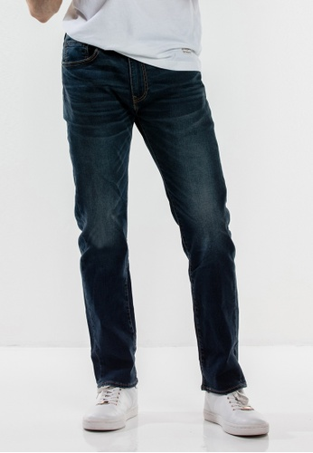 Levi's blue Levi's 505™ Regular Fit Performance Cool Jeans 90890AA67801DBGS_1