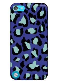Funky Cheetah Print Glossy Hard Case for iPod Touch 5th Gen