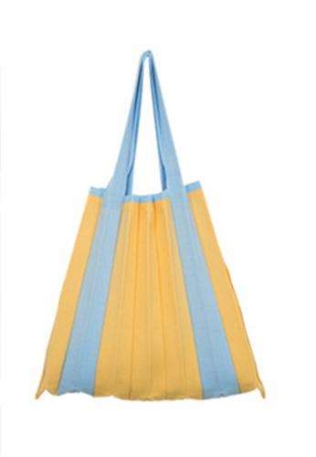 Sunnydaysweety yellow Fresh Temperament Commuter Tote Bag Ca21051310YE 91698AC9C9B06CGS_1