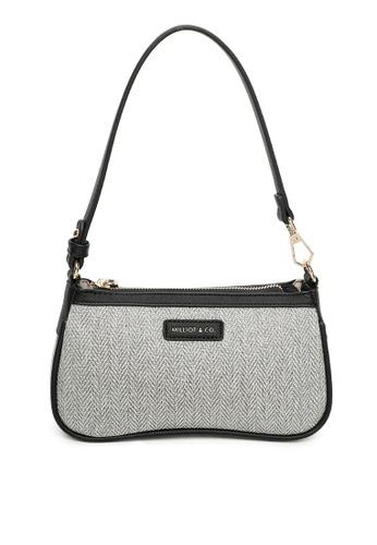Milliot & Co. grey Yuri Shoulder Bag 50D42AC04A31D2GS_1