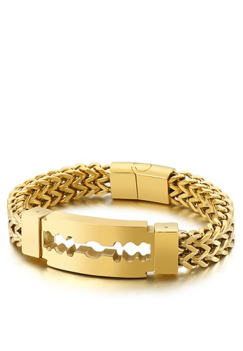 HAPPY FRIDAYS Creative Blade Titanium Steel Bracelet KL149653 12724AC83D42EEGS_1