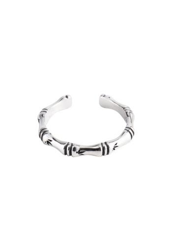 OrBeing white Premium S925 Sliver Geometric Ring 35031AC8FB0EC8GS_1