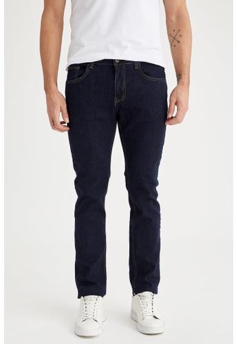 DeFacto blue Regular Jeans E16BAAA6D250B7GS_1