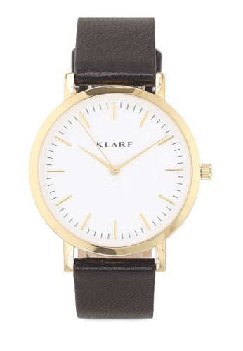 Klarf black Classic Watch With Leather Bracelet F933DAC554B37EGS_1