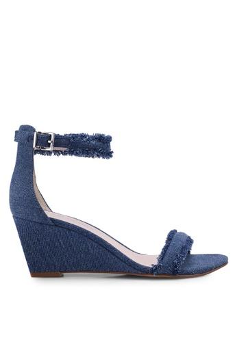 Kenneth Cole 藍色 Kcny Davis Heel Sandals A247ESHAA43996GS_1