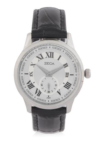 ZECA black and silver Zeca Watches Man Fashion - 302M Black Silver ZE074AC0WDAHID_1