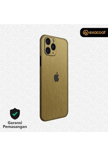 Exacoat iPhone 11 / 11 Pro 3M Skins Titanium Series - Titanium Gold DFDBAESD570FBCGS_1
