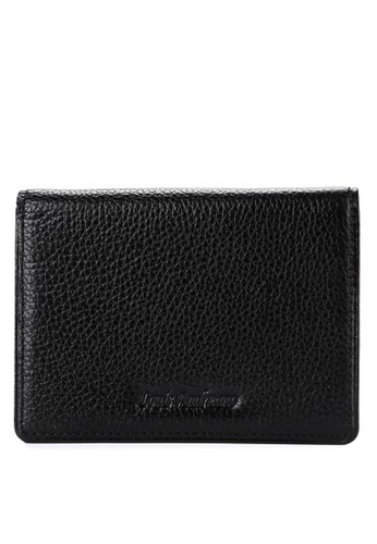Louis Andreano black Miller Card Wallet With Money Pocket 8217EAC9687F32GS_1